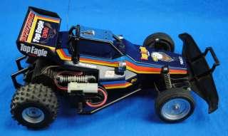 Vtg Pathfinder Top Eagle Turbo Nikko RC Radio Controlled Buggy Race