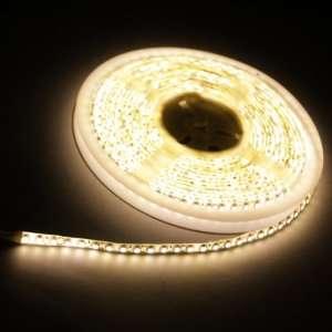 Warm White 5M 600 LED 3528 SMD Flexible Car DIY Strip Light Waterproof