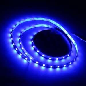 Blue 1M 60 LED 3528 SMD Flexible Car DIY Strip Light