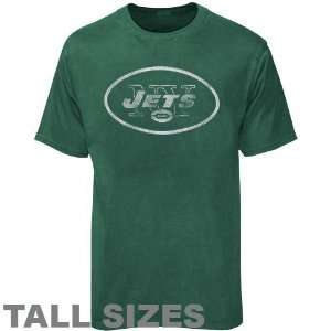 New York Jets Green Pigment Dyed Vintage Tall Sizes T