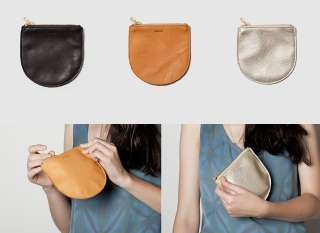 BAGGU LEATHER SMALL POUCH WALLET COIN PURSE BAG