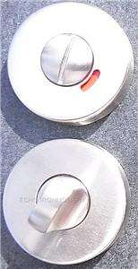 Lock Turns Satin Stainless Privacy/Bathroom No24