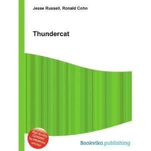 Thundercats Books on Thundercat  Ronald Cohn Jesse Russell  Books