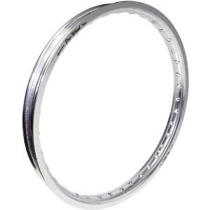Pro Wheel Front Motorcycle Rim   21x1.60   Silver, Position Front