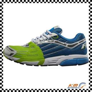 FOX RACING FEATHERLITE SHOES BLUE/GREEN US 11 RUNNING ATHLETIC