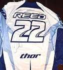 chad reed signed thor core yamaha promo jersey 22 large expedited