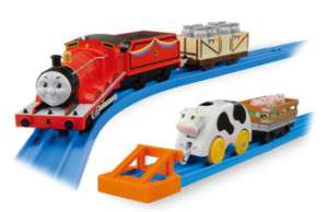JAPAN TOMY THOMAS & FRIENDS TRACKMASTER JAMES SET