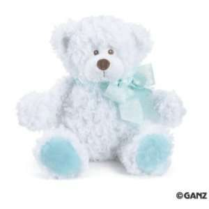 Piper Blue and White Teddy Bear 12 Toys & Games