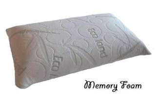 Double Zone 100% memory foam Bed Pillow with Bamboo External cover
