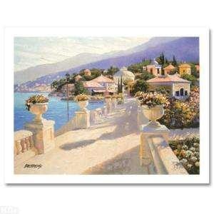 Howard BehrensBellagio Promenade II,S/N,COA,on canvas