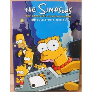 The Simpsons The Complete Seventh Season Collectors Edition   DVD