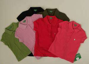 BENETTON SWEATER POLO SHIRT TODDLER BRIGHT SOLID COLOR