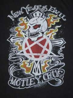 Vtg 1982 MOTLEY CRUE NEW YEARS EVIL CONCERT SHIRT tour
