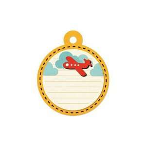 We R Memory Keepers   Embossed Tags   Red Airplane Arts