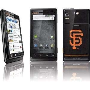 San Francisco Giants   Solid Distressed skin for Motorola