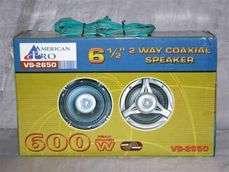 AMERICAN PRO 6.5 6 1/2 600 WATT CAR STEREO SPEAKERS