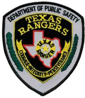 Texas Rangers Raid Patch