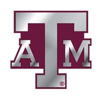 TEXAS A&M AGGIES Logo NCAA METAL Color Car Emblem NEW