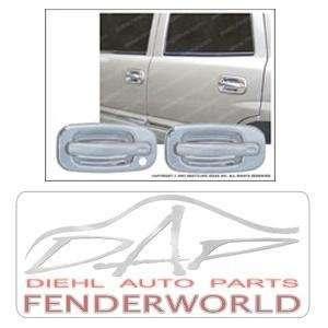 CHEVY/GMC PICKUP 88 98 4DR TFP CHROME HANDLE COVERS Automotive