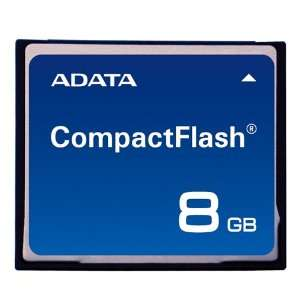 A Data 8GB Compact Flash CF Speedy Memory Card ACF8GZ R
