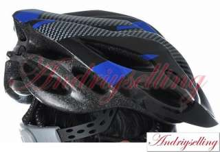 New Bicycle Bike Adult Men Women Helmet Carbon 3 Colors