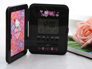 SANRIO HELLO KITTY DIGITAL ALARM CLOCK WITH PHOTO FRAME 5482 1