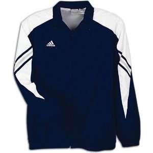 adidas Mens Performance Basic Warm up Jacket ( sz. XXXL, Navy/White