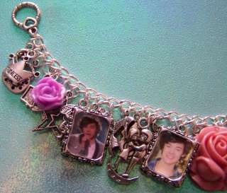 Harry Styles Themed Charm Bracelet Handmade By Tattoo.Heroine