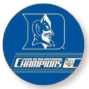 DUKE BLUE DEVILS 2010 NCAA BASKETBALL CHAMPS CAR MAGNET