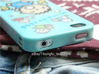 Sanrio Minna No Tabo Boy iPhone 4 Soft TPU Protective Case Cover NEW
