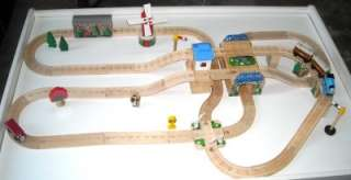 THOMAS THE TANK Engine Wooden Tracks Trains cars Hilltop Station Race