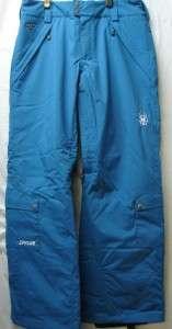 Spyder Juliet Snow Ski Pants Teal Womens 10 NEW