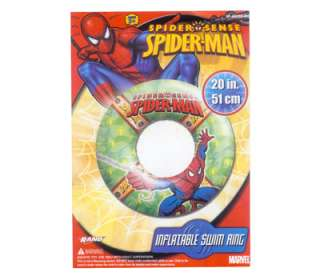 SPIDER MAN 20 SWIM RING TUBE BEACH POOL FLOAT TOY 3+
