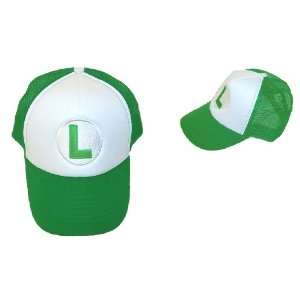 Trucker Hat   Nintendo   Super Mario Luigi Green