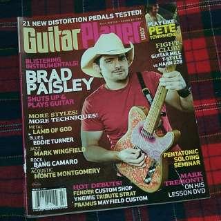 Guitar Player Magazine Brad Paisley