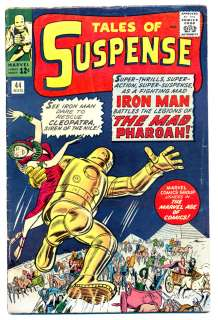 TALES OF SUSPENSE #44 G IRON MAN, Marvel Comics 1963