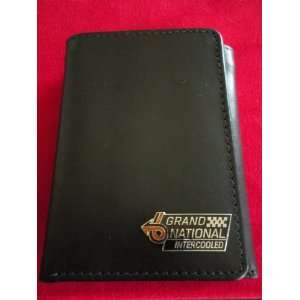Grand National(Buick)Tri Fold Leather Wallet Everything