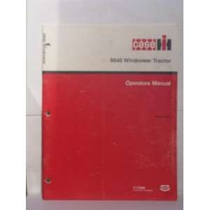 Tractor operators manual Case International harvester Books