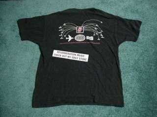 ROLLING STONES Bridges To Babylon XL 1997 World Tour T Shirt