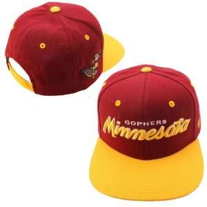 Zephyr Minnesota Golden Gophers Headliner Hat Adjustable