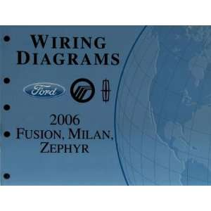 2006 Ford Fusion, Mercury Milan, Zephyr Wiring Diagrams Manual Ford