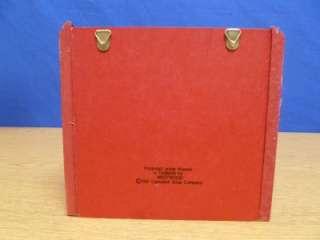 Campbells Soup Wooden Recipe Card Box X81