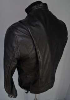 VTG 60s BROOKS Buco BLACK Steerhide Leather CAFE RACER MOTORCYCLE