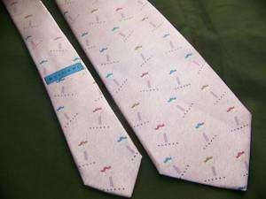 Bulgari SEVEN FOLD Silk Necktie, Davide Pizzigoni Pink