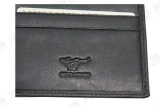 New Mens Wallet Pattern Genuine Leather Wolf Totem