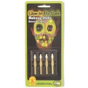 Glow in the Dark Makeup Sticks Halloween Accessories Toys & Games