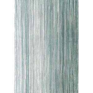 Metallic Strie Turquoise by F Schumacher Wallpaper: Home Improvement