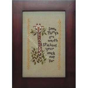 Sticking it Out   Cross Stitch Pattern Arts, Crafts