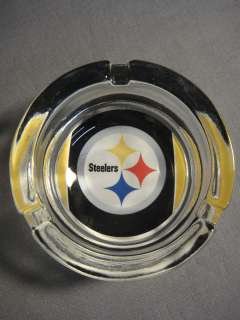 YOU ARE BUYING A BRAND NEW, PITTSBURGH STEELERS LOGO ASHTRAY.