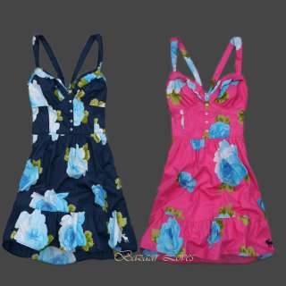 NWT Womens Abercrombie Camille Floral Dresses